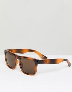 Квадратные солнцезащитные очки в черепаховой оправе Vans - Мульти