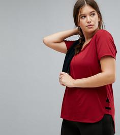 Бордовая футболка Nola Active - Красный
