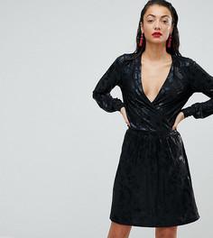 Платье с запахом и принтом Vero Moda Tall - Мульти
