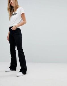 Расклешенные джинсы в стиле ретро Wrangler - Черный