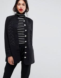 Куртка в стиле милитари Y.A.S - Черный