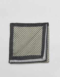 Хлопковый платок для нагрудного кармана Jack & Jones - Белый