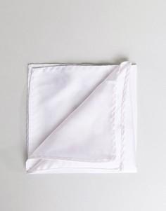 Шелковый платок для нагрудного кармана Jack & Jones - Белый