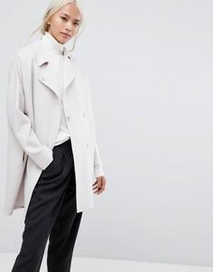 Пальто Selected Femme - Розовый