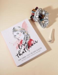 Книга Love That Hair с руководством по созданию причесок - Мульти Books
