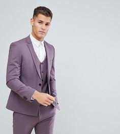 Приталенный пиджак Noak - Фиолетовый