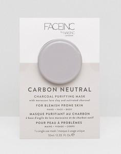 Очищающая маска для лица с древесным углем Face Inc Carbon Neutral - Бесцветный