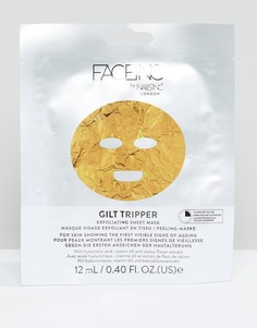 Отшелушивающая маска-салфетка Face Inc Gilt Tripper - Золотой