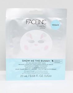 Маска-салфетка, балансирующая секрецию сальных желез Face Inc Show Me the Bunny - Мульти