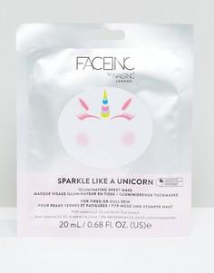Ответляющая маска-салфетка Face Inc Sparkle Like A Unicorn - Мульти