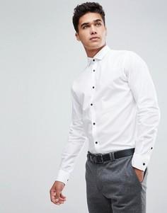 Узкая рубашка Jack & Jones Premium - Белый