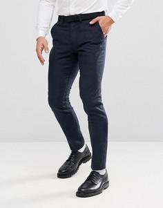 Премиум-брюки узкого кроя Jack & Jones - Темно-синий