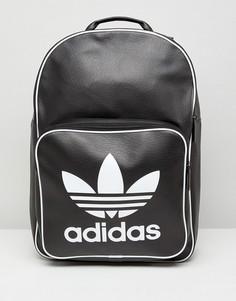 Черный рюкзак в стиле ретро adidas Originals - Черный