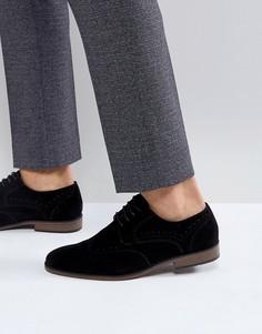 Черные туфли со шнуровкой River Island - Черный