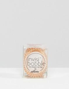 Набор резинок для волос бронзового цвета Invisibobble - Медный