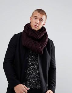 Бордовый шарф-снуд New Look - Красный