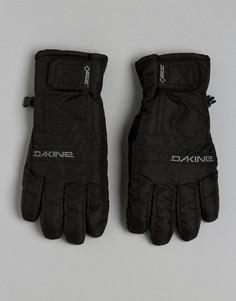 Кожаные горнолыжные перчатки Dakine Gore-Tex - Черный