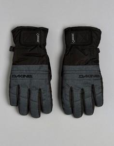 Кожаные горнолыжные перчатки Dakine Gore-Tex - Серый