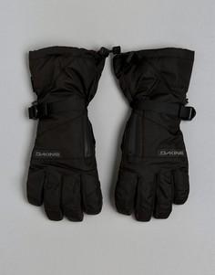 Кожаные горнолыжные перчатки на подкладке Dakine Titan - Черный