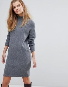 Трикотажное платье Y.A.S - Черный