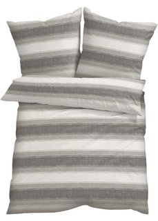 Постельное белье Грета, поликоттон (серый) Bonprix