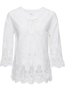 Блузка (кремовый) Bonprix