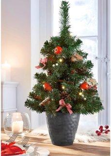 Светодиодная елка (красный/натуральный) Bonprix