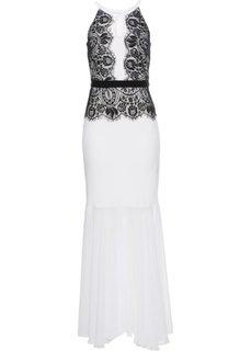 Вечернее платье (черный/белый) Bonprix