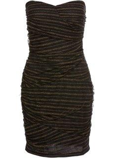 Коктейльное платье (черный/золотистый) Bonprix