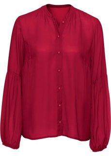 Блузка (темно-красный) Bonprix