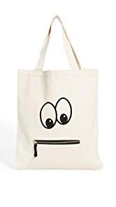 Bag-all Googly Eyed Zipper Tote