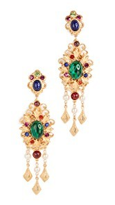 Ben-Amun Chandelier Earrings