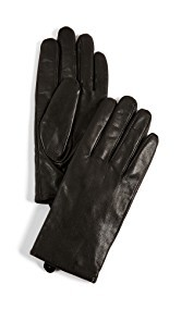 Club Monaco Claudia Tech Leather Gloves