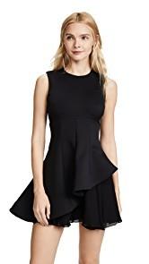 Cushnie Et Ochs Structured Fit & Flare Dress