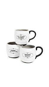 Gift Boutique Morning Mug Set of Three