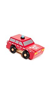 Gift Boutique Childs Fireman Magnetic Truck