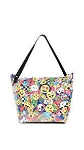 Gift Boutique Childs Emoji Party Weekender Bag