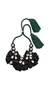Lizzie Fortunato Moonlight Bib Necklace