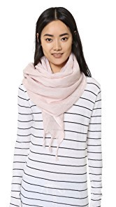 Love Quotes Linen Fringe Scarf