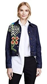 Michaela Buerger Funky Flowers Denim Jacket