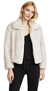 McGuire Denim Gigi Faux Fur Jacket