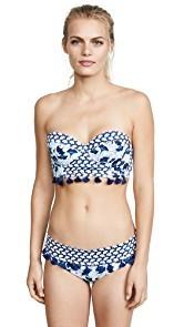 OndadeMar Lotto Bandeau Bikini Top
