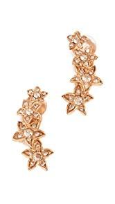 Oscar de la Renta Star Fish Clip On Earrings