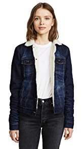 PRPS Faux Shearling Jacket