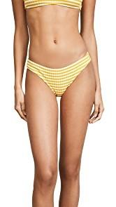 Solid & Striped The Elle Stripe Rib Bikini Bottoms