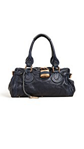What Goes Around Comes Around Chloe Leather Paddington Bag (Previously Owned)