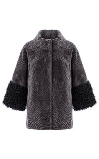 Шуба из овчины на синтепоне Virtuale Fur Collection