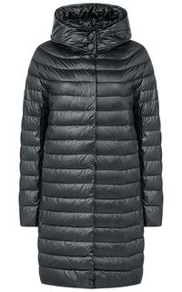 Пальто на искусственном пуху с капюшоном LE Monique