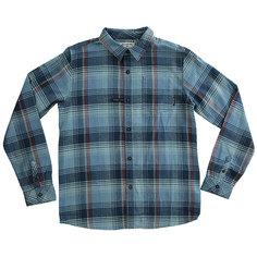 Рубашка в клетку детская Billabong Coastline Flannel Ls Blue