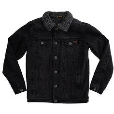 Куртка джинсовая детская Billabong Barlow Trucker Boy Salty Vinta Black